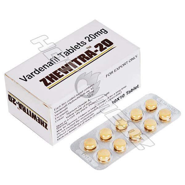 Zhewitra 20 mg